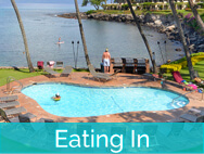 Honokeana Cove activities - eating in