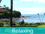 Honokeana Cove activities - relaxing