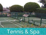 Honokeana Cove activities - tennis & spa