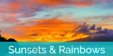 Honokeana Cove sunsets and rainbows slideshow